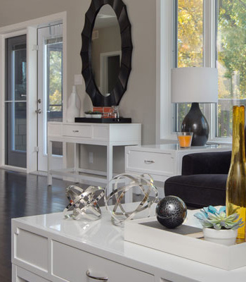 Livingroom - Interior Decorating - Milne Well Dressed Homes - Staging Your Home Winnipeg, Manitoba